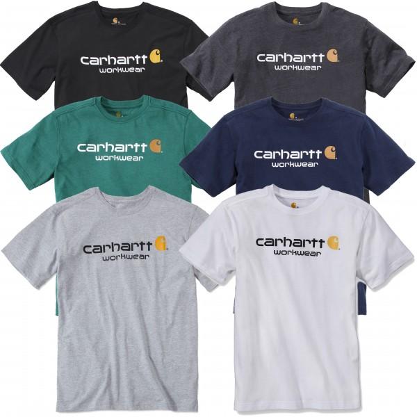 Carhartt T-Shirt - Core Logo ( Bitte Größentabelle beachten! )