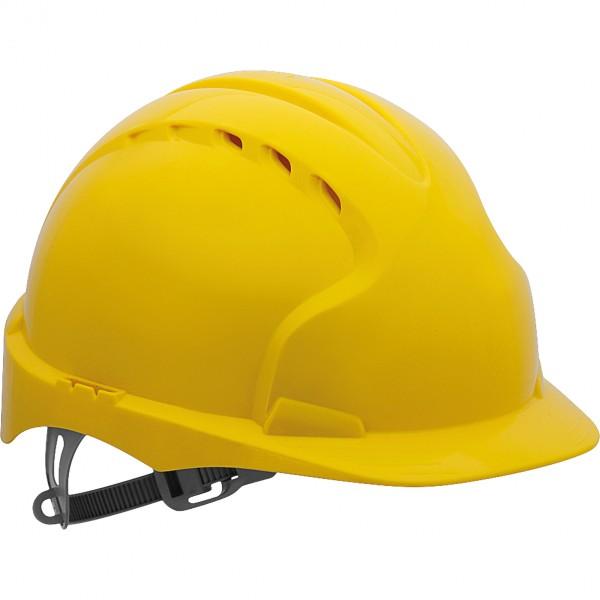 Schutzhelm - KAS-EVO2 - HDPE-Kunststoff - JSP - Made in UK - Gelb