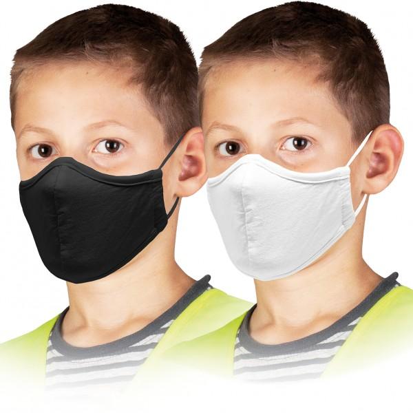 Kindermaske 5 STÜCK Mundschutz Kinder 100 % Baumwolle