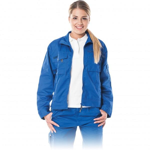 Arbeitsjacke Damen - Leber & Hollman - Blau