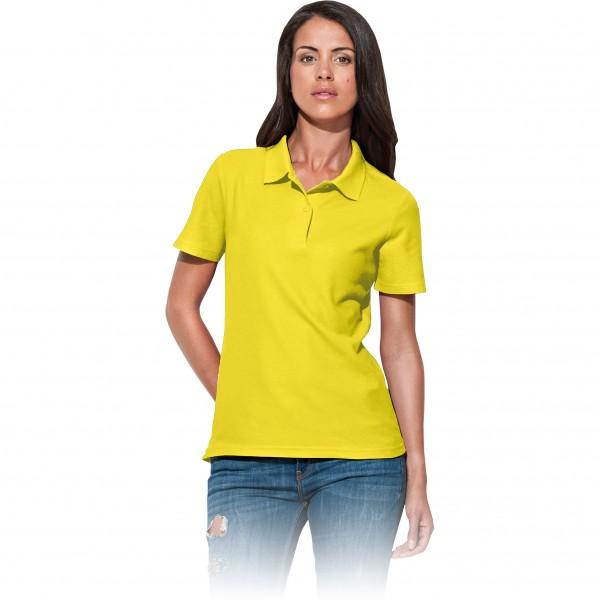 Damen-Polohemd - ST3100 - 100% Baumwolle - Gelb