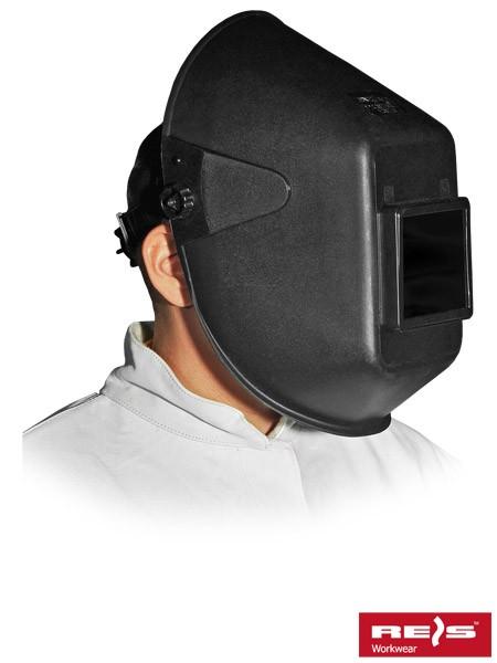 Schweißermaske - OTW - Schwarz