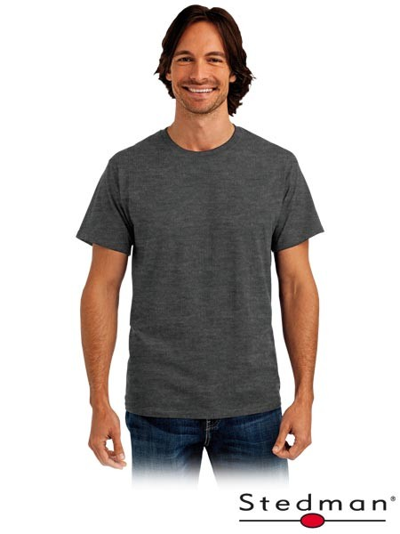 T-Shirt - ST2000 - 100% Baumwolle - Dunkelgrau