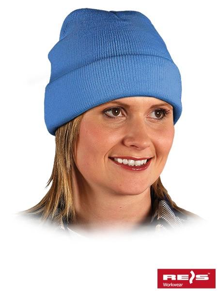 Wintermütze - BAW - 100% Acrylgarn - Hellblau